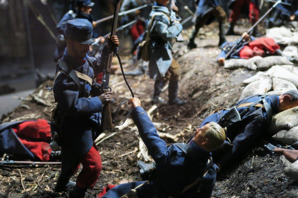 Figurine du Musée Guerre et Paix en Ardennes patrimoine et musée historique