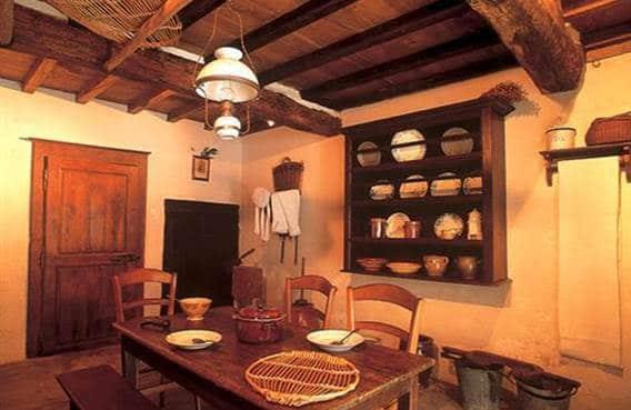 Intérieur de la maison de pays de Crêtes à Evigny