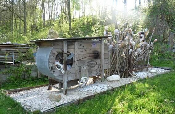 Présentation du Jardin d'Omont et d'une de ces sculptures