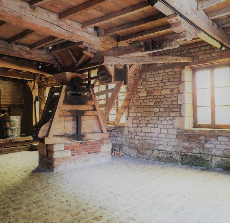 La salle du pressoir